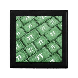 Pi Grunge Style Pattern Gift Box
