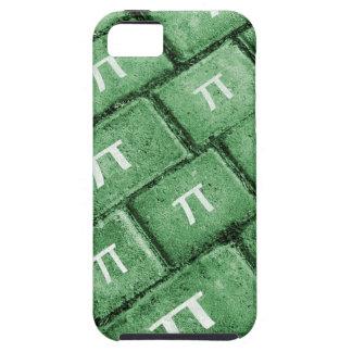 Pi Grunge Style Pattern Tough iPhone 5 Case