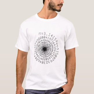 Pi In a Spiral T-Shirt