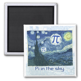 Pi in the Sky Gift Ideas Magnet
