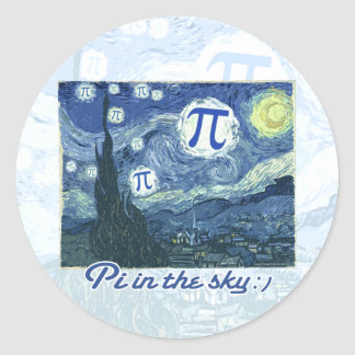 Pi in the Sky Stickers