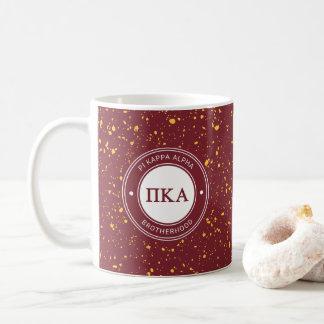 Pi Kappa Alpha   Badge Coffee Mug