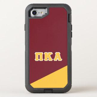 Pi Kappa Alpha | Greek Letters OtterBox Defender iPhone 8/7 Case