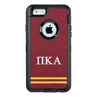 Pi Kappa Alpha   Sport Stripe OtterBox Defender iPhone Case