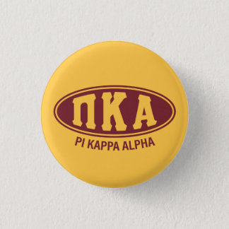 Pi Kappa Alpha | Vintage 3 Cm Round Badge
