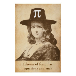 Pi Lady Dreams Poster