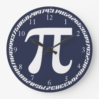 Pi Large Clock