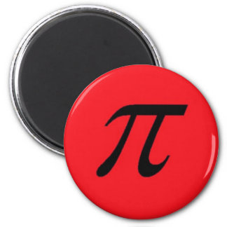 Pi Magnet Red