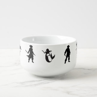 Pi-Maids, Pirates and Mermaids Go Together Soup Mug