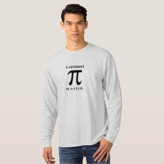 Pi Master With Pi Symbol and Value T-Shirt