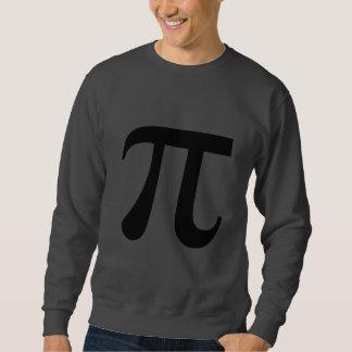 Pi Math Symbol Pull Over Sweatshirts
