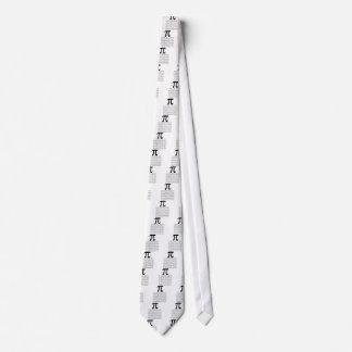 pi  maths tie