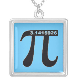 Pi Necklace (Blue)