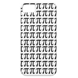 Pi Pattern Black iPhone 5 Case