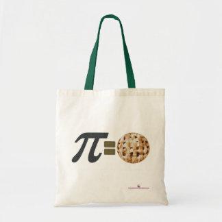 Pi = Pie Tote Budget Tote Bag