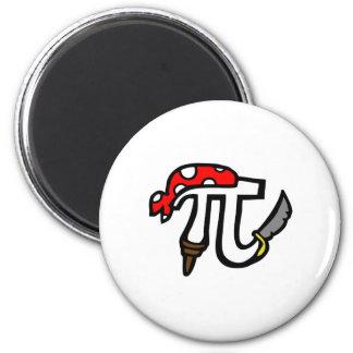 PI Pirate 6 Cm Round Magnet