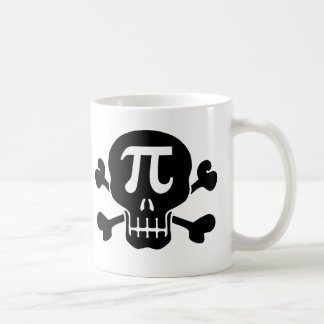 Pi rate coffee mug