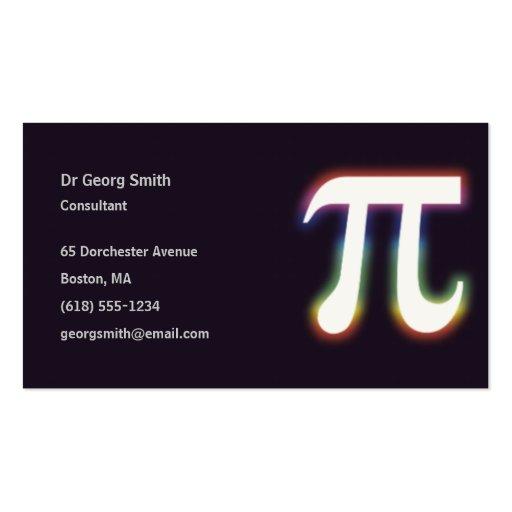 Pi - Scientist Business Card