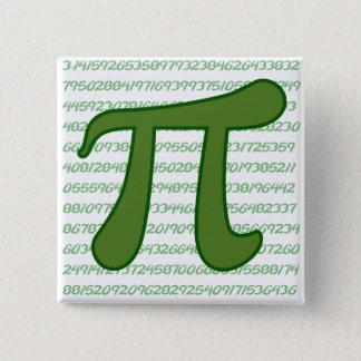 Pi Sequence 15 Cm Square Badge