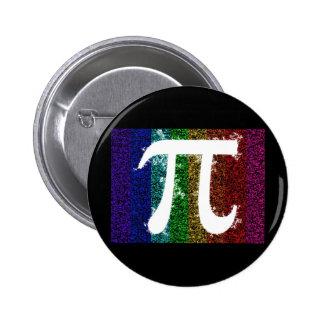 Pi Sign Electric 6 Cm Round Badge