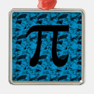 Pi Sign Metal Ornament