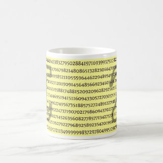 PI - Simply Irrational over 800+ digits Coffee Mug