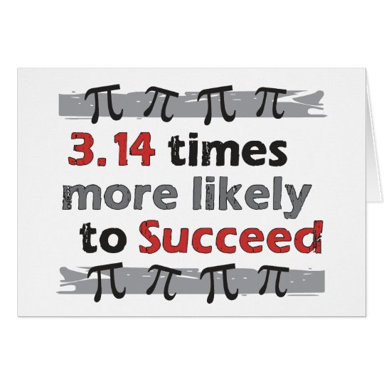Pi Success Card
