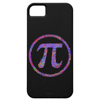 Pi Symbol Action Painting Splatter iPhone 5 Cases