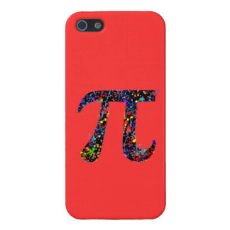 Pi Symbol Action Painting Splatter Case For iPhone 5/5S