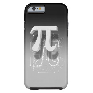 Pi Symbol Art Tough iPhone 6 Case