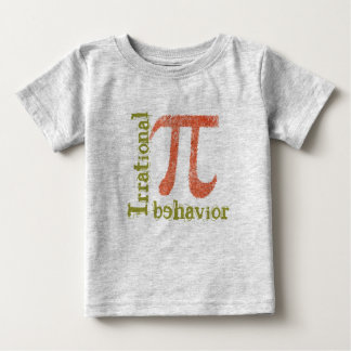 Pi Symbol Irrational Behavior Infant's T shirt