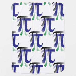 Pi Symbol Math Blanket Buggy Blanket