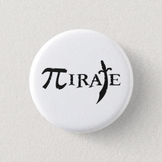 Pi Symbol Pirate 3 Cm Round Badge