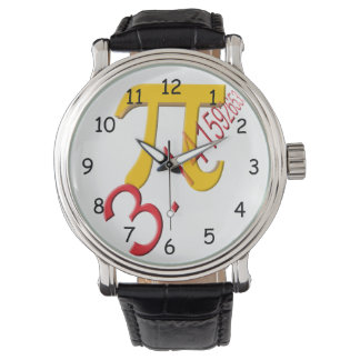 Pi Symbol watch
