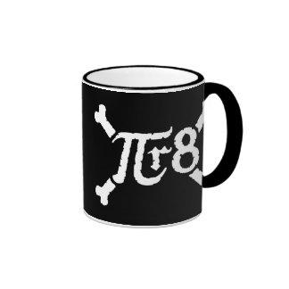 Pi x Radius to the 8th Power = Pirate Coffee Mug