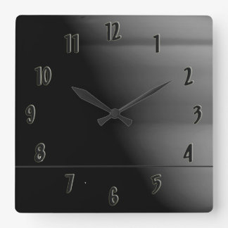 PIA8331 SQUARE WALL CLOCK