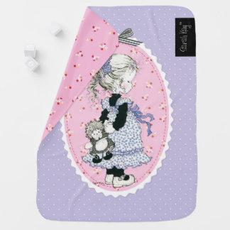 """Pia"" Baby Blanket Lavender"