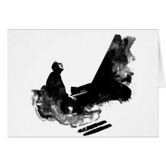 pianist card