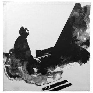 pianist napkin