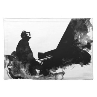 pianist placemat