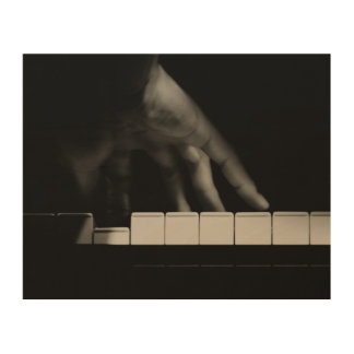 Pianist's Hand Wood Wall Decor