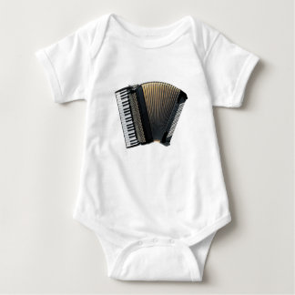 Piano Accordion Baby Bodysuit