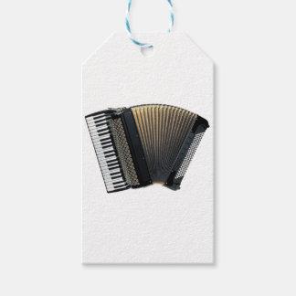 Piano Accordion Gift Tags