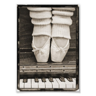 Piano Ballet Duet small sized Photo Print