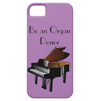 Piano Be an Organ Donor iPhone 5 Cover