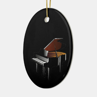 Piano Be an Organ Donor Ceramic Oval Decoration
