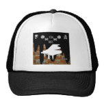 PIANO BRICK BACKGROUND PRODUCTS MESH HATS
