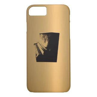 Piano Bronze Copper-Effect iPhone 7 Case