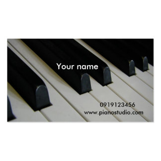 Piano/ Business Card Templates