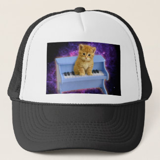 Piano cat cap